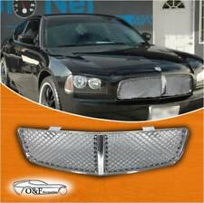Dodge Charger 2006-2010 Chrome ABS Mesh Front Upper Bumper Grill Grille