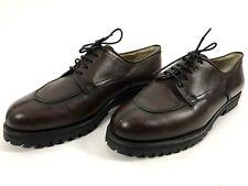 Amazing! Montero Men's Brown Leather Shoes Size EU43.5 UK9 US10
