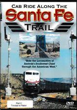 Cab Ride Along The  SANTA FE (DVD) (Chemin de fer américain, train)