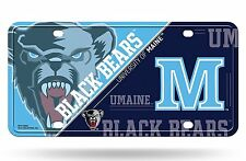Maine Black Bears NSD140603 Metal Aluminum License Plate Tag University of