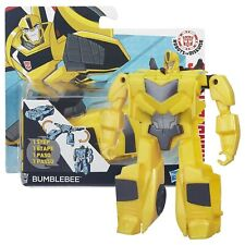 Transformers Figure Bumblebee Robots in Disguise 1-Step Changers Hasbro