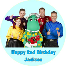 Personalised 19cm The Wiggles Edible Wafer Cake Topper