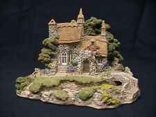 Lilliput Lane Cottage Convent In The Woods 1990 #418 Church w/ deed and box