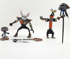 Ratchet and Clank Azimuth Orvis Rusty Pete Figures Lot