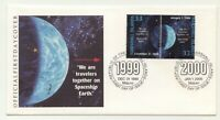 """Marshall Islands 1999-2000 FDC """" END / BEGINING OF THE MILLENNIUM"""