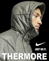 NIKE SPORTSWEAR TECH PACK THERMORE SYNTHETIC FILL JACKET GREY BLACK 928885-001 L