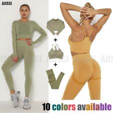 Женские спортивные костюмы бесшовный топик строп спортивный бюстгальтер ласины в тренажерном зале, йоги спортивные костюмы