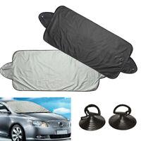 Front Rear Car Window Foldable Windshield Sun Shade Shield Cover Visor UV Block