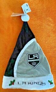 LA KINGS LOS ANGELES SANTA HAT UGLY CHRISTMAS SWEATER HAT