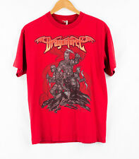 Vintage - Dragonforce Red Mens Used T Shirt Size M