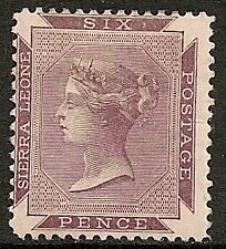 Sierra Leone 1859 SG 1  UNG  VF