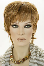 Short Straight Layered Hairstyle Blonde Brunette Red Straight Adjustable  Wigs