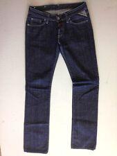 Replay WV 524.034 Jeans Hose Schwarz Dark Washed W26 L34