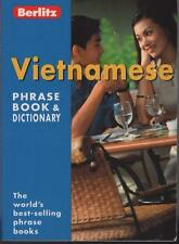 VIETNAMESE PHRASE BOOK & DICTIONARY - BERLITZ - EXCELLENT FAST FREE POST
