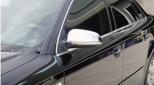 Chrome mirror cover backs rears for Audi A3 8P, A4 B6, A4 B7 covers