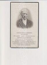 Oud Doodsprentje Temse F.J. D'Hooghe Koster Organist  Cnockaert 1934