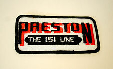 Vintage Preston Trucks The 151 Line Semi Trucking Cloth Patch New NOS 1970s