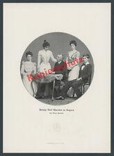 Duke Karl Theodor Family Noble Coat of Arms Wittelsbach Dittmar Munich doctor 1904