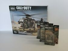 Mega Bloks Construx Call of Duty LOT Special Ops Copter GCP11 helicopter+figures