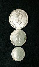 old british india 3 rare coin set