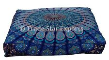 Large Dog Bed Cover Square Yoga Meditation Pillow Sham Pet Bedding Floor Cushion