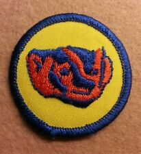 BSA  PATROL MEDALLION PATCH - BADGER - 1972 - 1989  - PRE-OWNED   B00056