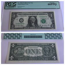 VINTAGE pcgs 66 PPQ $1 STAR 2003 FEDERAL RESERVE NOTE RICHMOND ONE DOLLAR UNC