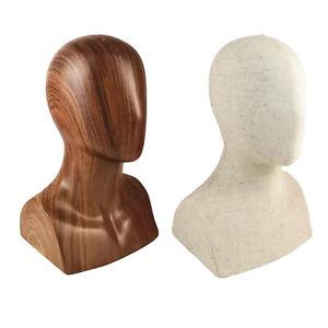 """Abstrakte 13 """"Hoch Männliche Mannequin Kopf Modell Puppe für Hüte Jewerly"""