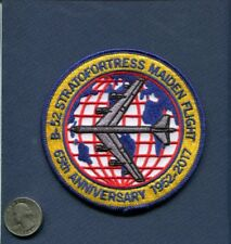 65th Anniversary Boeing B-52 STRATOFORTRESS USAF SAC BS Bomber Squadron Patch