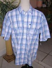 QUIKSILVER MEN TEENAGER DRESS SHIRT S P NWT $46