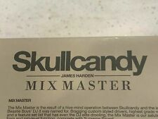 1 of 50! RARE *** James Harden Edition *** Skullcandy Mix Master Headphones NBA
