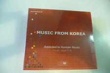 MUSIC FROM KOREA COFFRET CD + DVD NEUF EMBALLE. K-POP. KOCCA.