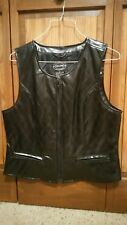 Womens black Selene Sport Vest Medium