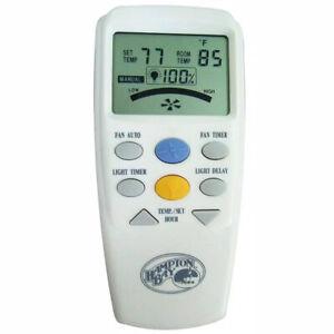 Hampton Bay LCD Display Thermostatic Remote Control 60001