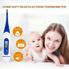 FLEXI Digital Medical Thermometer Baby Child Fever 10 FREE FOREHEAD THERMOMETERS
