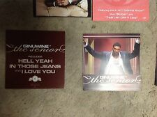 2 Ginuwine Promo Poster 12x12 Perforated album Cd lp Music Rare pony.
