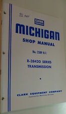 Clark R-28420 series transmission shop manual.