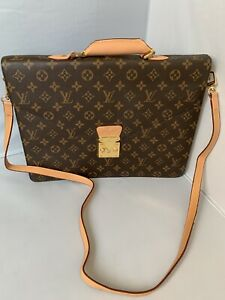 Louis Vuitton Briefcase with Strap New