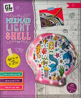 Make Your Own Mermaid Shell LED Bedroom Light