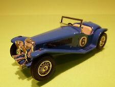 MATCHBOX LESNEY Y-3 RILEY M.P.H. MPH 1934 - BLUE - RARE SELTEN - VERY GOOD