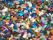 500 Carat Lots of Size #1 Tumbled Polished Gemstones + A FREE Faceted Gemstone
