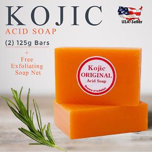 (2 Pack) Kojic Original Skin Lightening Kojic Acid Soap - 125g