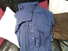 Camisa de vestir manga corta BURBERRY color Azulón