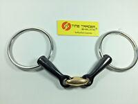 Copper Lozenge/ peanut Sweet Iron Loose Ring Snaffle Bit All Size ( Horse Bit )