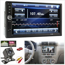 7'inch HD Bluetooth Touch Screen Car Stereo Radio 2DIN FM/MP5/MP3/USB/AUX Camera