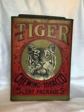 Tiger Tobacco canister