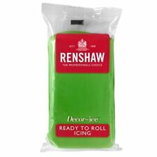 Lincoln Green Renshaw Ready To Roll Icing Fondant Cake Covering Regalice 1kg