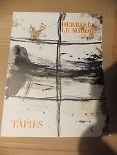 Antoni Tàpies Derriere Le Miroir Nr.168 vom 1967 mit Originalfarblithographien