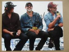 Andrew Lincoln, Norman Reedus, Jeffrey Dean Morgan Signed ;Autographed Photo