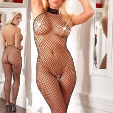 bodystocking catsuit ouvert sexe fesses bas résille sexy